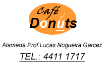 Café Donuts, lanches, sucos